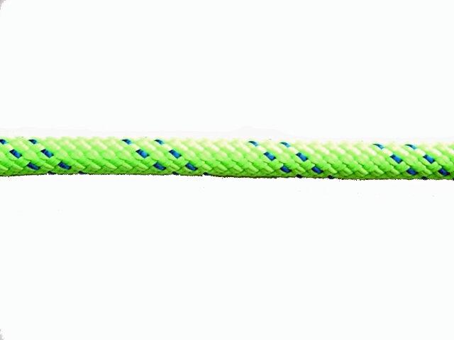 KM3スタティックロープ10.5mm×100メートル グリーン:ガラス清掃用品ヤマオカ
