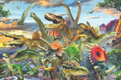 3Dパズル【恐竜ワールド】150ピース