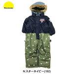 【送料無料】[moujonjon]ムージョン[キッズ]ジャンプスーツ[90〜120cm][3色]M60191/M60192/M60193スノーコンビ/ロンパース/ムージョンジョン/防寒つなぎ/キッズ/丸高衣料marutaka/雪遊び/そり/スキー/旅行/gags【あす楽】【RCP】