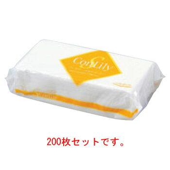 タオルペーパー ソフトコンリリー(200枚入)【ペーパータオル】【衛生用品】【業務用】