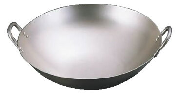 SA純チタン 中華鍋 45cm 【業務用鍋】【チタン】【Ω】【鼎】【丸底鍋】【業務用厨房機器厨房用品専門店】