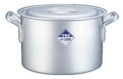 半寸胴鍋アルミニウム(アルマイト加工)(目盛付)TKG60