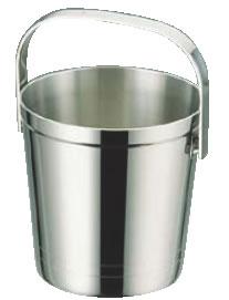 UK18-8S型アイスペール 大【氷入れ】【ステンレス】【アイスバスケット】【バー用品】【業務用厨房機器厨房用品専門店】