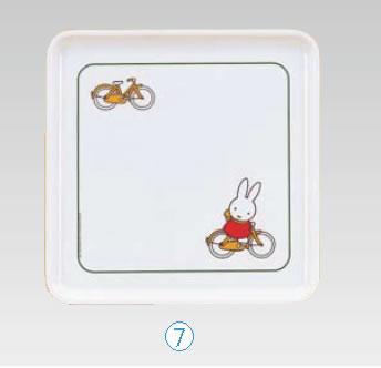 ■お得な10個セット■メラミンお子様食器 「ミッフィー」 トレー M-32C1【...