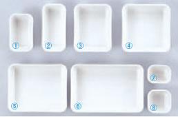 C-7・C-6 アクティブ弁当用仕切 白 No.2【弁当箱】【お弁当】【宅配弁当】【仕切のみ】【幕の内弁当】【仕出し弁当】【副食】【給食】【9-2-2】