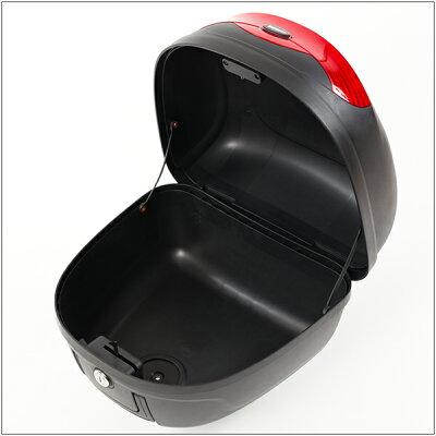 【Velocity】リアボックストップケースバイクボックス黒着脱可能式取手付29リットル大容量原付【フルフェイス収納可能】【あす楽】【配送種別:B】