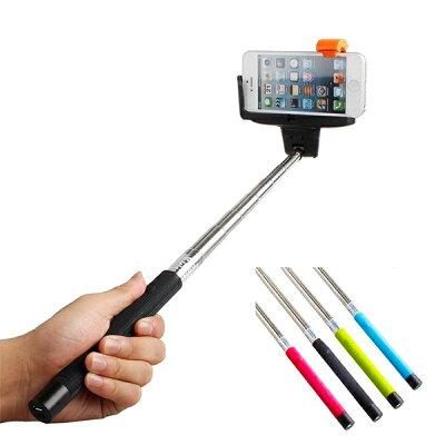 セルカ棒Bluetooth自撮り棒iPhone6iPhone5Sスマホセルフィースティックじどり棒全4色【あす楽】【配送種別:C】