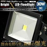LED投光器30W白昼色DC12V〜24V対応