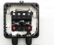完全防水型端子ボックスの中の状態/ソーラーパネル/太陽光パネル/太陽光発電/太陽電池パネル