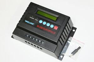バッテリー電圧、充電電流などを確認しながら使用可能!!【送料無料】12V(480W)/24V(960W)システ...