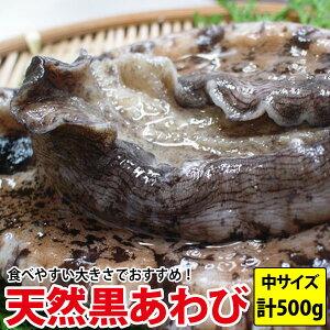 送料無料 天然黒あわび(アワビ) 計500g(130g〜190g前後)九州で水揚げされた新鮮なあわびをステーキで!プレゼント お祝い [貝類セール]