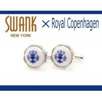 SWANK&RoyalCopenhagenスワンク&ロイヤルコペンハーゲンコラボカフスボタンrcc002