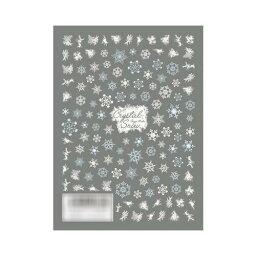 TSUMEKIRA(ツメキラ) ネイルシール 雪の結晶4 Frozen Winter NN-YUK-401