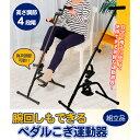 【代引き・同梱不可】腕回しもできるペダルこぎ運動器 SE5600【健康器具】