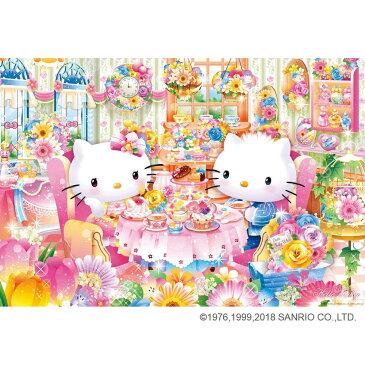 ジグソーパズル 1000ピース サンリオキャラクターズ ハローキティのフラワーハウスのアフタヌーンティー 31-482【知育玩具】