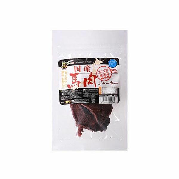 【代引き・同梱不可】マルジョー&ウエフク ドッグフード 馬肉ジャーキー 25g 10袋 HJ【ペット フード】