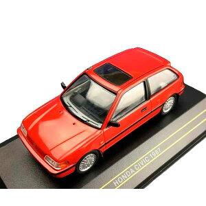 First43/ファースト43 ホンダシビック 1987 レッド 1/43スケール F43-042【玩具】