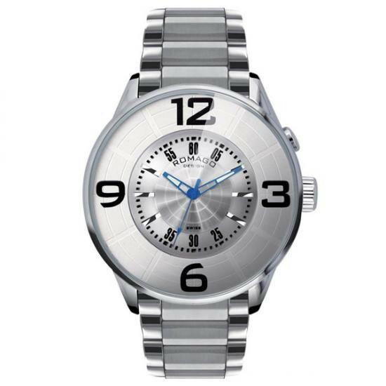 ROMAGO DESIGN (ロマゴデザイン) Numeration series ヌメレーションシリーズ 腕時計 RM007-0053SS-SV【腕時計 男性用】
