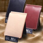 【送料無料】KC,s ケイシイズ ケーシーズ クリップオン マネークリップ【kib200】二つ折り 財布 革 皮 サイフ ウォレット メンズ men's 男性用 紳士