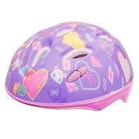 カブロヘルメットジュエルペット/1489/ジュエルペットパープル女の子用ヘルメット幼児用安心