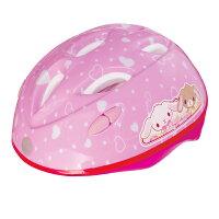 カブロヘルメットシュガーバニーズ/1494/シュガーバニーズハートピンク女の子キャラクター幼児用ヘルメット