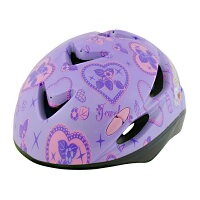 ちゃりんくるヘルメットSG-Jr.ジュエルペット/1486/ジュエルペットパープルキラキラ自転車アイテム子供用ヘルメット