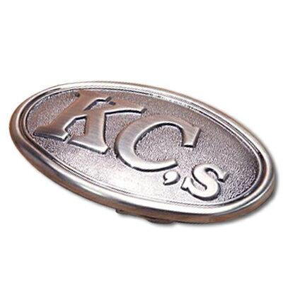 KC,s ケーシーズ KC,s トロフィー 38mm ニッケル バックル/kyv38f/オリジナル トロフィー バックル ロゴ ベルト【  新生活】【七夕】