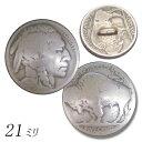 KC,s ケーシーズ 5cent コイン コンチョ 21ミリ ループ/...