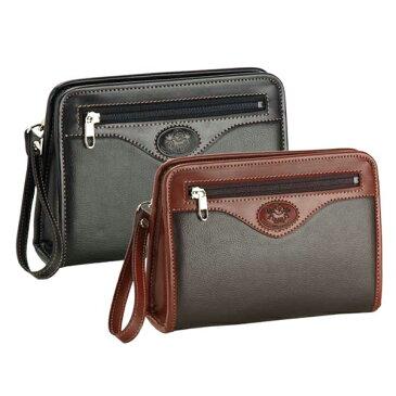 日本製 豊岡製 セカンドバッグ セカンドポーチ セカンドバック メンズ 22cm/25620/メンズ mens バッグ bag セカンドバッグ ポーチ ゴルフ メンズ 鞄