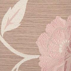 オーダーカーテン花柄幅100cm×丈245~260cm2枚mf110br納期10日程度