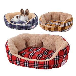 【犬 ベッド】 ふわふわ ラウンドクッション 犬 猫 ベッド ソファー 暖か 秋冬 小型犬用