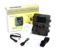 【送料無料】トレイルカメラHT-002A不可視赤外線屋外用モーション検知無人カメラ並行輸入品