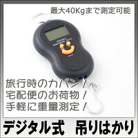 【送料無料】デジタル式吊り下げはかり電子ばかり秤フィッシングスケール