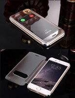【送料無料】iPhone6/6siPhone6Plus/6sPlusマジックミラー手帳タイプケース