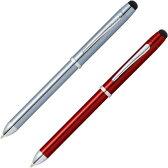 クロス CROSS テックスリープラス ニューラッカーフィニッシュ 複合ペン(ボールペン黒・赤+ペンシル0.5mm+スタイラス)AT0090-13/AT0090-14