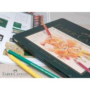 【あす楽対応】ファーバーカステル Faber-Castell ポリクロモス油性色鉛筆 24色セット(缶入) FC...