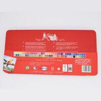 ファーバーカステルFaber-Castell水彩色鉛筆72色赤缶(鉛筆+筆+消しゴム+削り器)115973【並行輸入品】