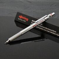 ロットリングシャーペン600メカニカルペンシルブラック/シルバー製図用シャープペンシル/芯ホルダー/ボールペン0.35mm/0.5/0.7mm/2.0mm19108/191170/190444/203257シャープペン文房具