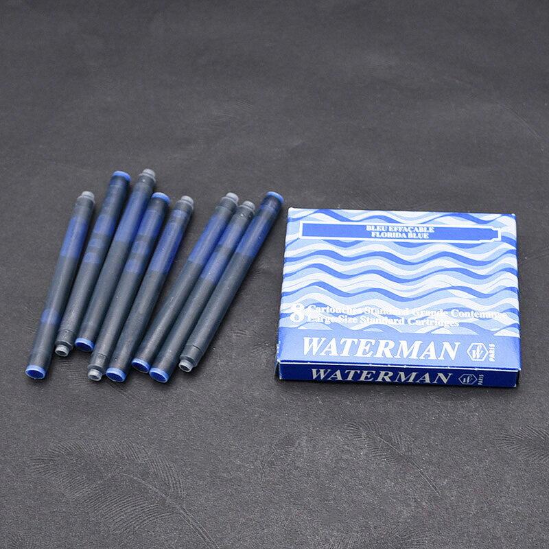 ウォーターマン WATERMAN カートリッジインク STD23 8本入/箱 ブラック/ミステリアスブルー(ブルーブラック)/セレニティブルー(フロリダブルー)/セレニティブルー(フロリダブルー)新パッケージ