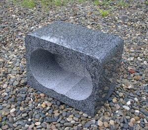 墓前用グレー御影石香炉