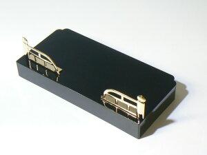 ミニ仏壇(大)黒内金の棚と欄干