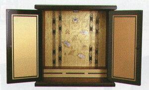 漆器調ミニ仏壇(金蒔)小本体のみ