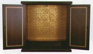 漆器調ミニ仏壇(黒檀)小本体のみ