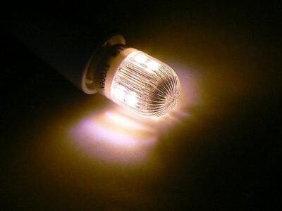 【定形外郵便でのお届け】【代引き・時間指定不可】電気式ロウソク、ダウンライト用LED電球(白)交換用