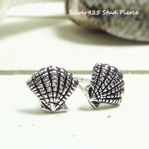 50%OFF!!シルバーピアス 本物の貝殻と瓜二つ 海の厳しさが伝わるシェルのスタッドピアス シルバー925 silver925 シルバーアクセサリー スタッドピアス レディースピアス