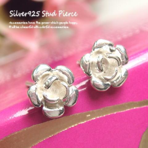 レディースジュエリー・アクセサリー, ピアス  7.5mm 925 silver925