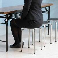 パイプ丸椅子パイプ椅子イスいすスツールスタッキングチェアチェアー