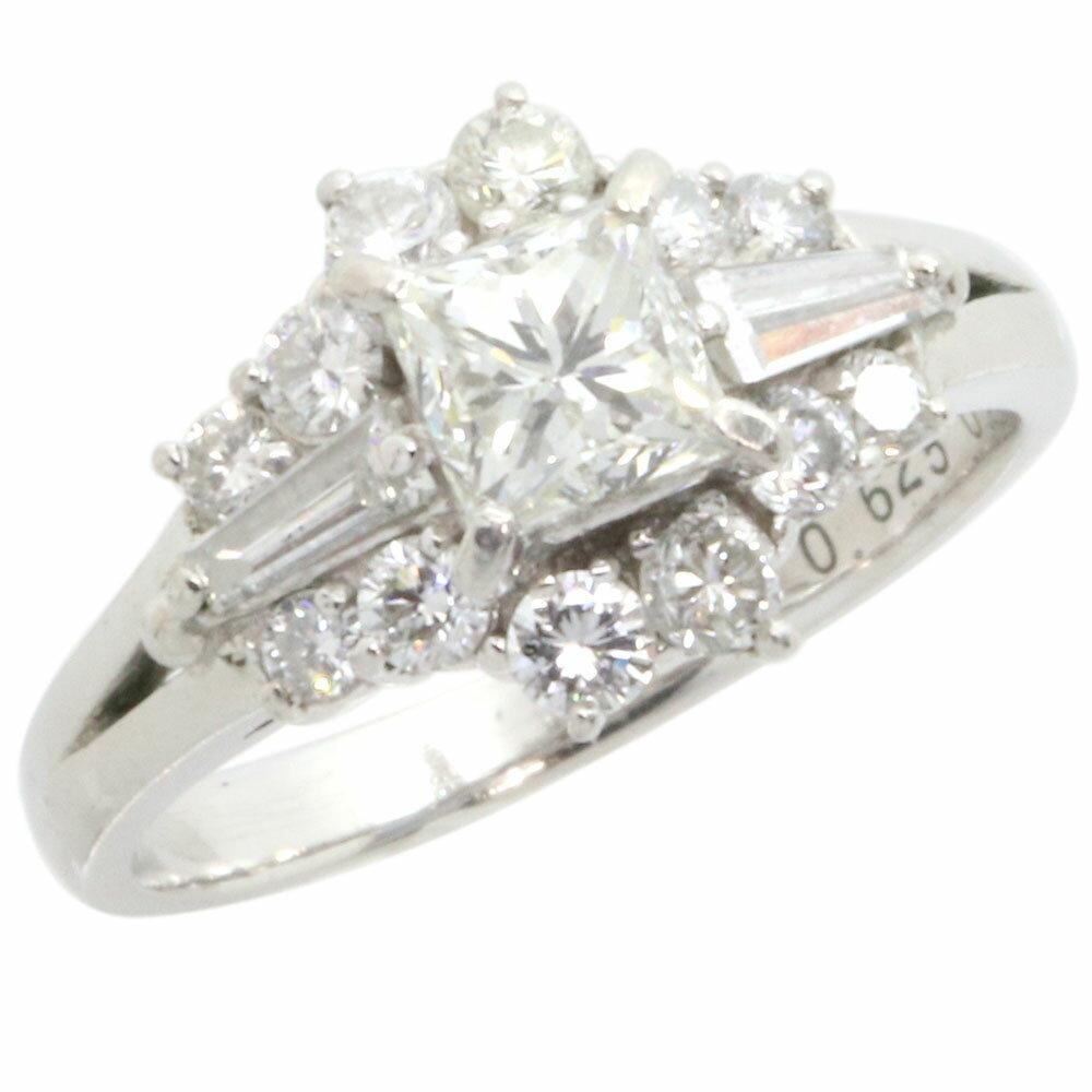 レディースジュエリー・アクセサリー, 指輪・リング  0.625ct 0.8ct Pt900 11 Diamond