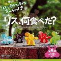 リス、何食べた全5種セット-セール品-KADOKAWAガチャポンガチャガチャガシャポン