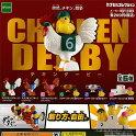 チキンダービー全6種セットにわ鳥キャラクターエポック社ガチャポンガチャガチャガシャポン